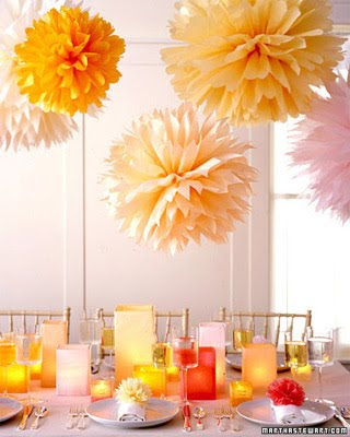 tissue paper flowers wedding. Trends: Tissue Paper Flowers