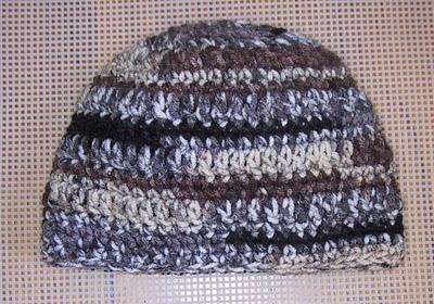 Visor Beanie Free Crochet Pattern   Learn to Crochet