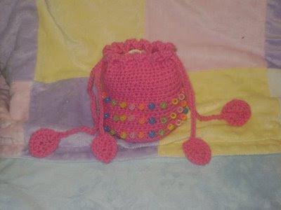 вязание крючком - мешочки для
