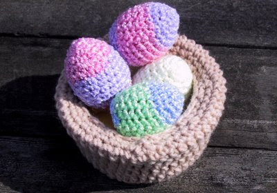 CROCHET EASTER EGG COVERS - CROCHET KNIT PATTERN SCARF - Crochet