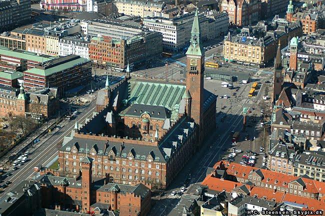 Htel dans le quartier de Centre-ville de Copenhague