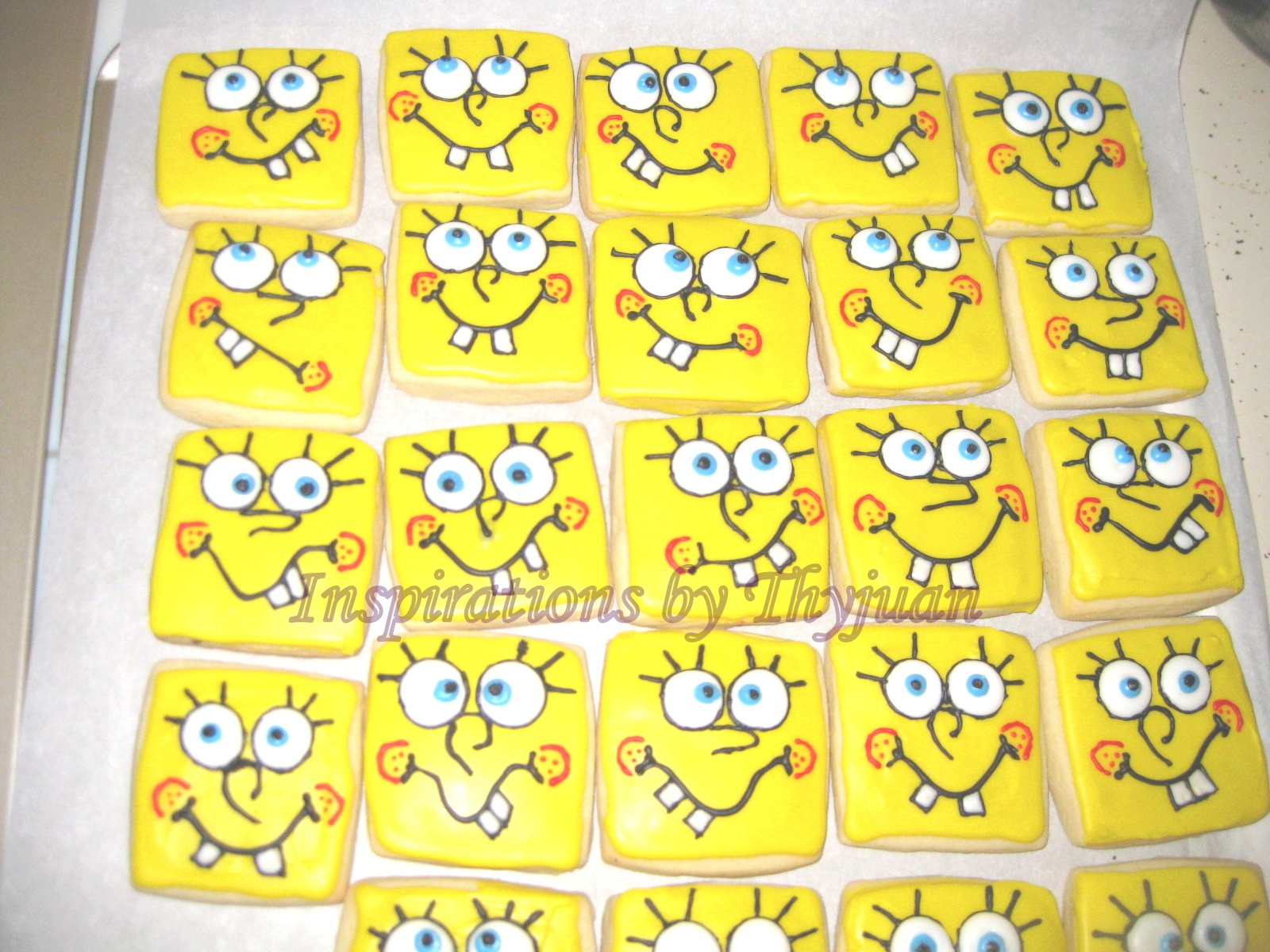 inspirations by thyjuan llc spongebob squarepants cookies