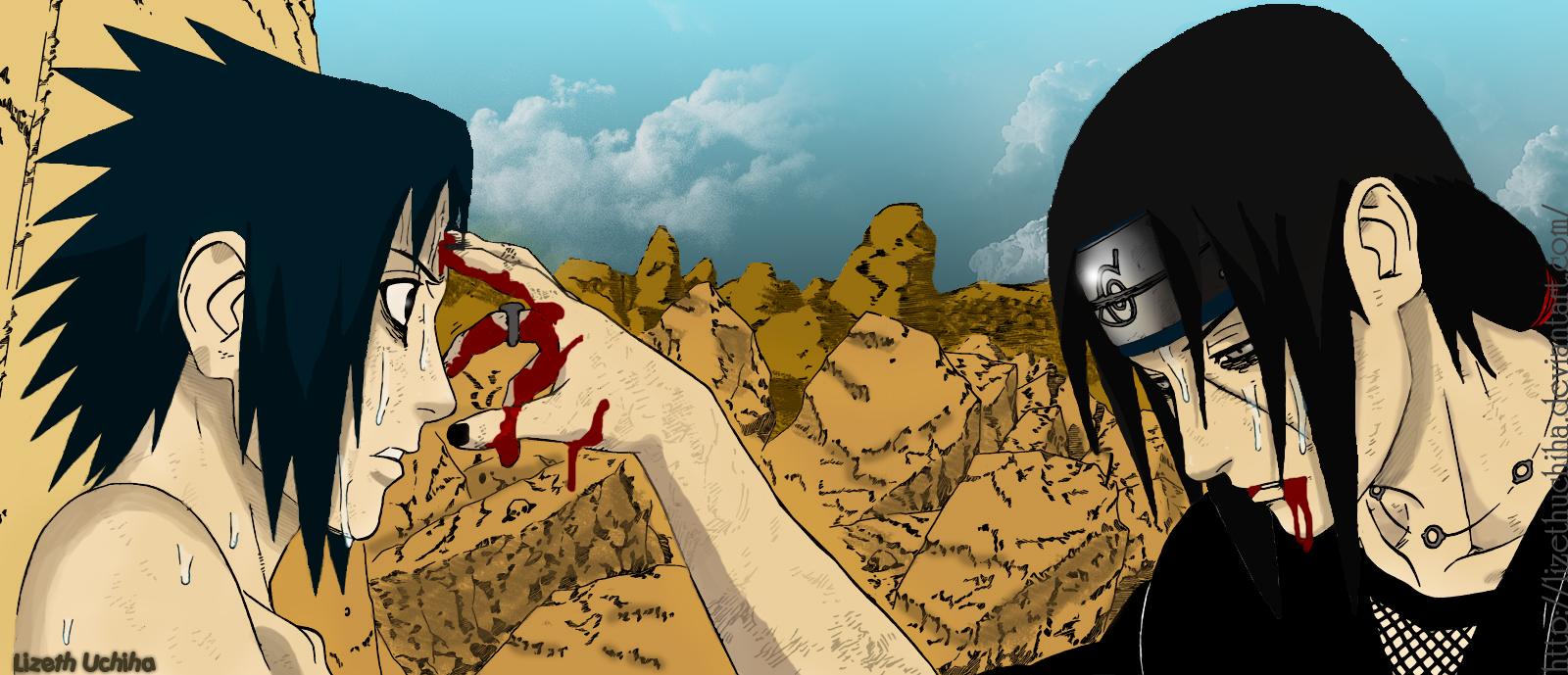 Sasuke+vs+itachi+wallpaper