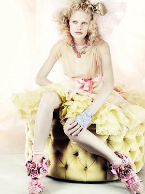 Vogue UK março 2010