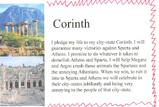 athenians and corinthians The sea battle against corcyra had ended disappointingly for corinth, and the athenians feared that the corinthians would retaliate by persuading potidaea, a city.