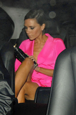 Victoria Beckham happy to exercise