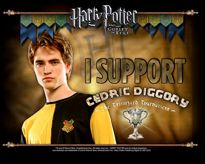 Robert Pattinson in Harry Potter Movie Stills
