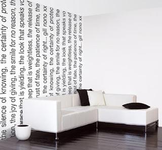 Papier peint vinyl sur expansé Relief Ecriture Gris Castorama - Papier Peint Avec Écriture