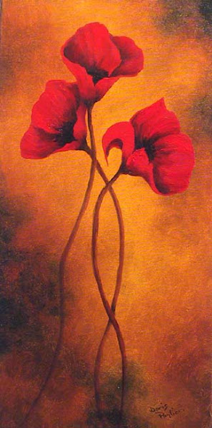Poppies  (Oil on Canvas)