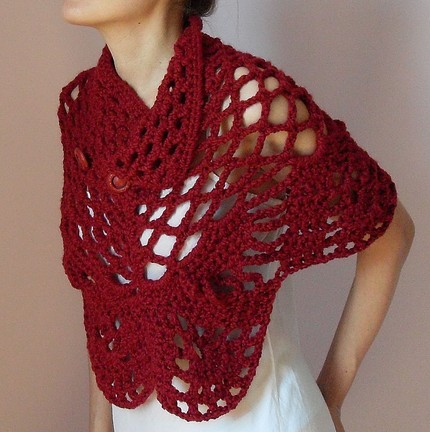Finding free capelet crochet patterns - by Johanna Draper - Helium