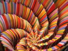 Mil colores.