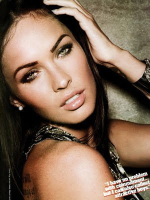 Megan Fox Covers October Cosmo 2