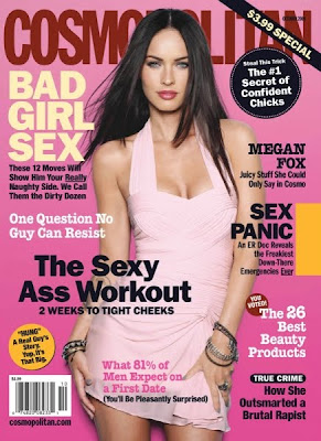 Megan Fox Covers October Cosmo 1