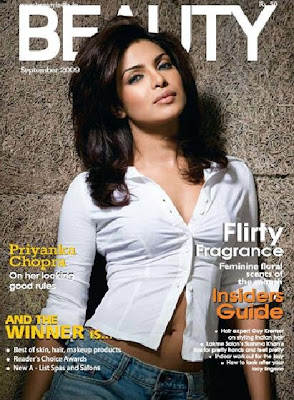Priyanka Chopra On The Cover Of Filmfare Magazine photos
