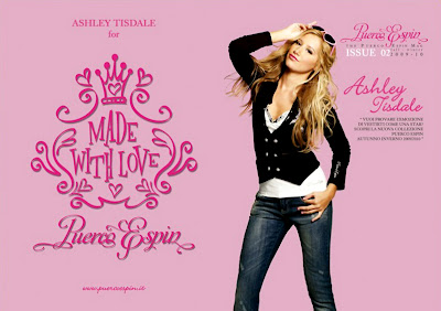 Ashley Tisdale – Puerco Espin Fall 2009 Catalog sexy image