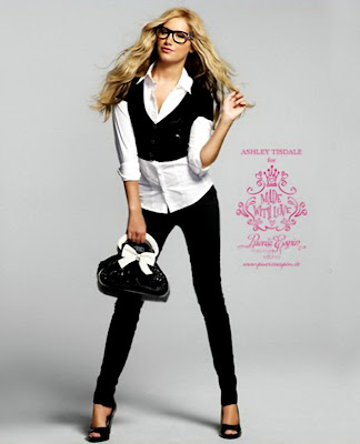 Ashley Tisdale – Puerco Espin Fall 2009 Catalog picture