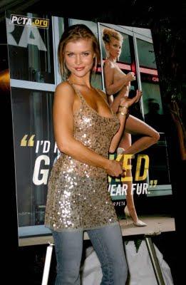 Joanna Krupa Photo Shoot For PETA ads hot images