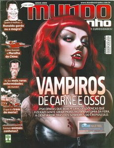 Download Revistas Mundo Estranho  Vampiros de carne e osso   06/09