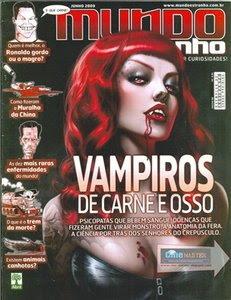 Download Revistas Mundo Estranho  Vampiros de carne e osso   06/09