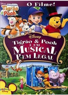 Filme Poster Tigrão & Pooh e Um Musical Bem Legal DVDRip Dublado