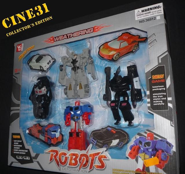 Colecção CINE31 Robotsdeformation01