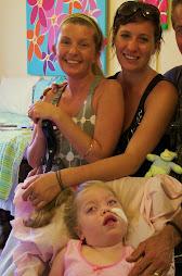 Me with mum and my  big sister Yasmin