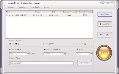 AoA Audio Extractor: Extract Audio from Video