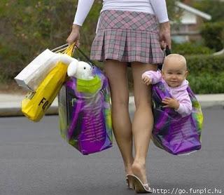 vá às compras