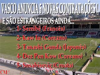 Contratações do Vasco para 2009