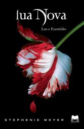 Capa do livro Lua Nova - continuação de Crepúsculo