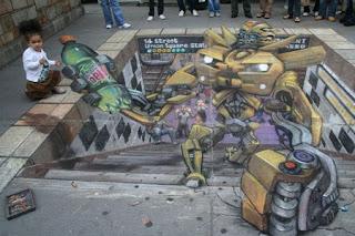 Desenhos na calçada pintados por Julian Beever 4