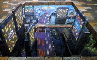 Desenhos na calçada pintados por Julian Beever 15