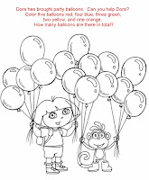 dora the explorer map coloring pages - free printable coloring pages dora the explorer and
