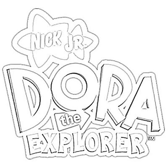 Free Printable Coloring Pages Nick Jr 39 s Dora the