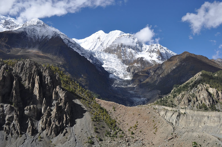 Gangapurna and the Glacier