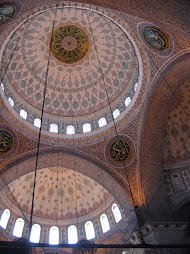 Inside Yeni Cami mosque