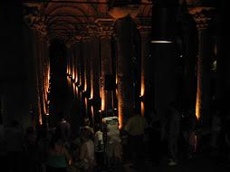 Basilica Cistern (underground watersupplies)