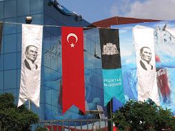 Flags: Ataturk, Turkey, Besiktas