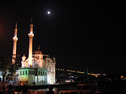 Ortakoy mosque by night