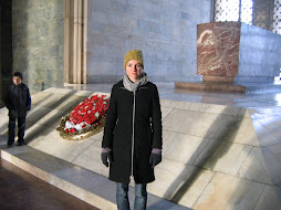 me infront of Ataturks tomb