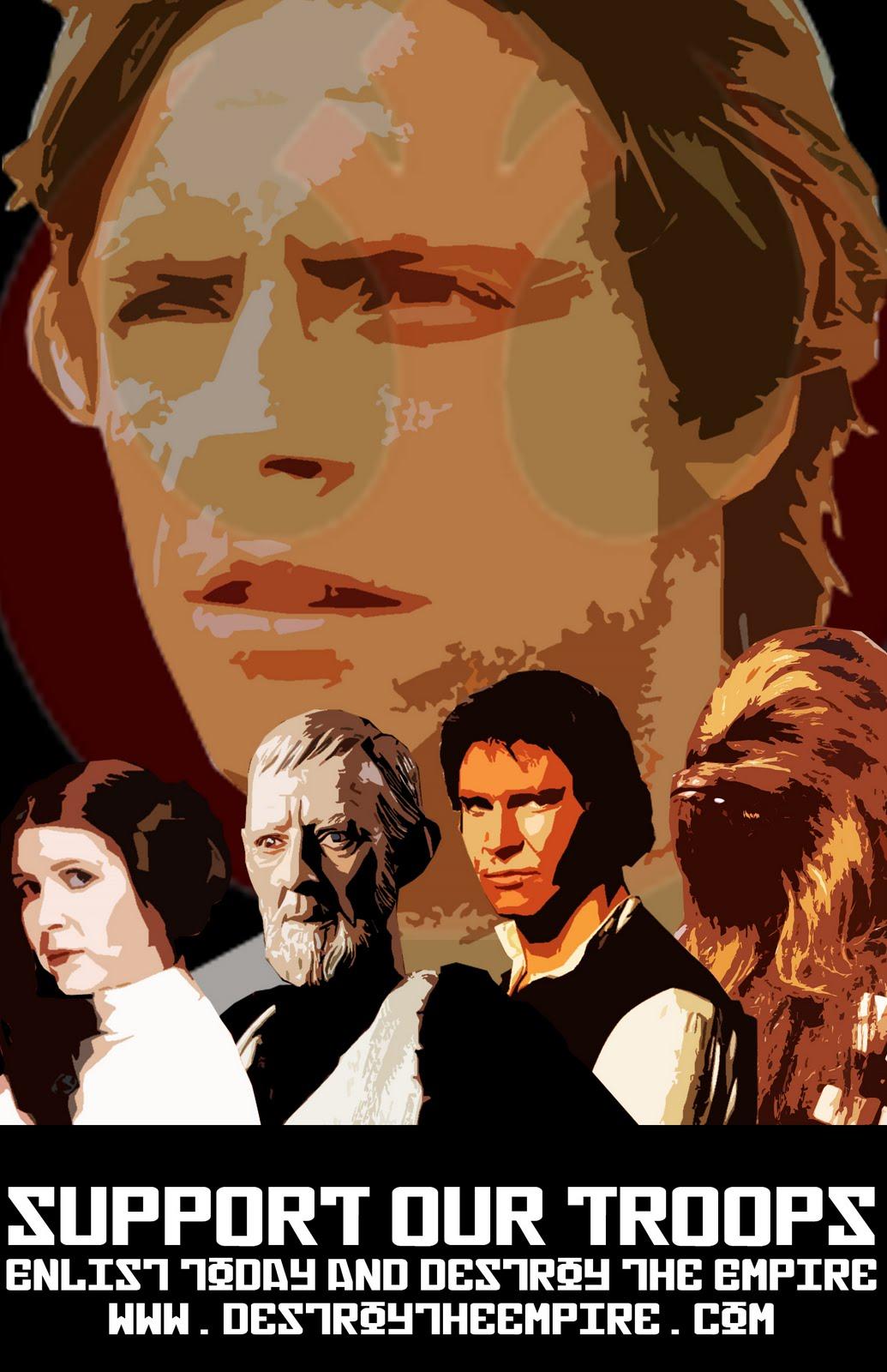 Somniphobia Design: Star Wars Propaganda Posters