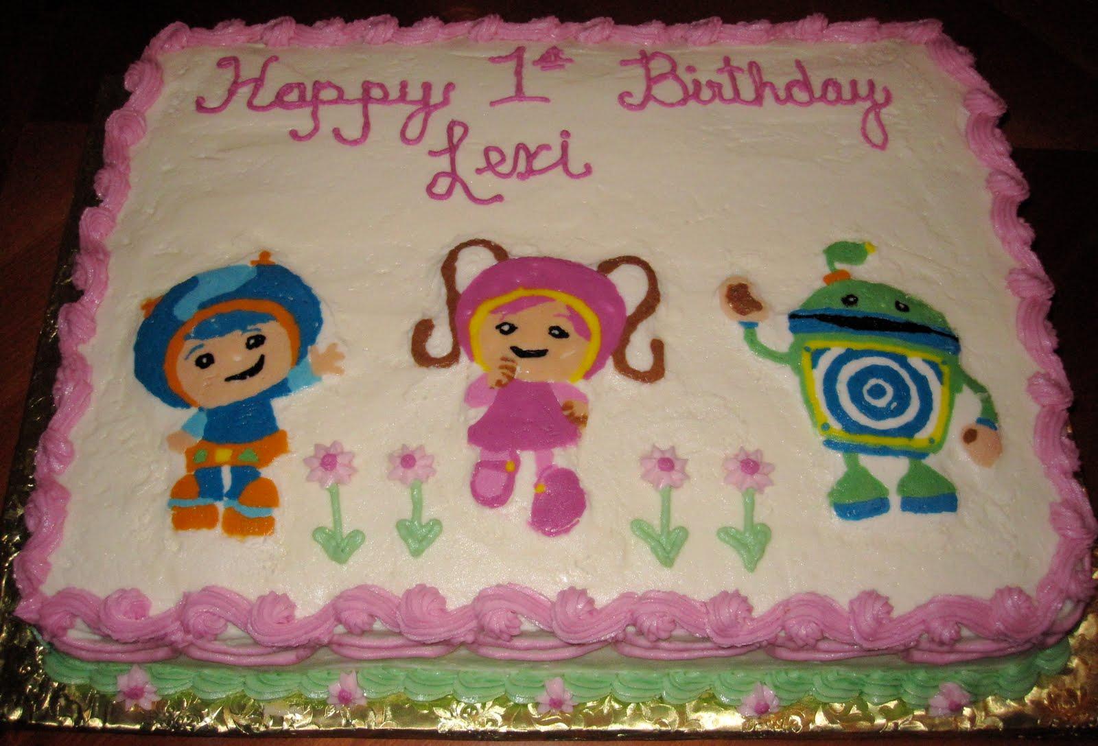 Team Umizoomi 1st Birthday CakeTeam Umizoomi Cake