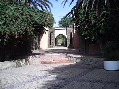 مدخل حديقة أولهاو أكادير