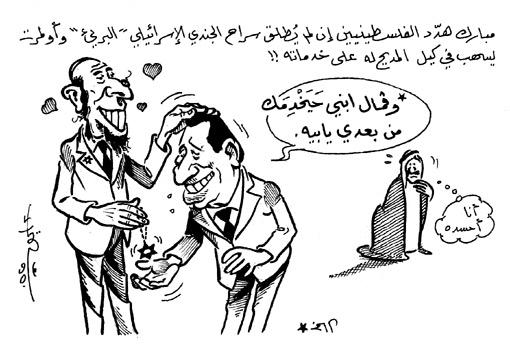 الملك عبد الله يحسد مبارك... دفع بالمخابرات السعودية لتمول  عمرو أديب وقناته أيوب في الخبر: