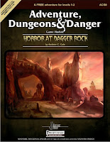 HORROR AT DAGGER ROCK