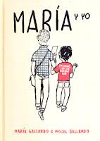 Coberta del còmic María y yo
