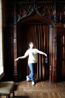 Bailando en el castillo de Cardiff