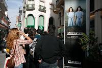 Sitges Festival de Cine gente en la cola