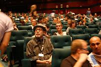 Tetsuya Nakashima en el Auditori de Sitges antes de presentar su película Kokuhaku