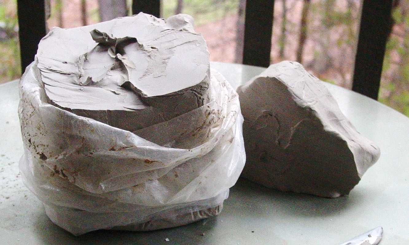 bag of clay